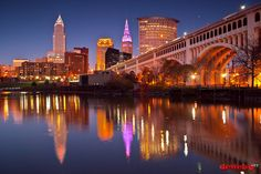 Cleveland Ohio..... Miss my city!!!  Just seven more days :)