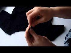 Video guide - sæt ribkant i halsen af en t-shirt eller bluse.