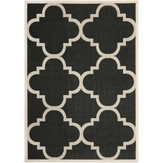 @Overstock - Perfect for any backyard, patio, deck or along the pool, this rug is great for outdoor use as well as any indoor use that requires an easy to maintain rug.http://www.overstock.com/Home-Garden/Safavieh-Courtyard-Black-Beige-Indoor-Outdoor-Rug/7357011/product.html?CID=214117 $21.99