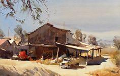 Home - Ross Paterson Watercolor Art Landscape, Watercolor Artists, Landscape Art, Landscape Photography, Watercolour Paintings, Watercolours, Australian Painting, Australian Artists, Art Pictures