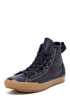 wholesale dealer 544c8 93068 Chuck Taylor Hollis Unisex Leather High Top Sneaker by Converse on   HauteLook 44 Converse Chuck