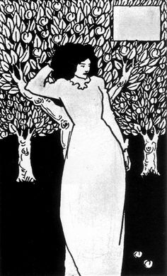 Chapter-heading for Le Morte Darthur 12  by Aubrey Vincent Beardsley (21 August 1872 – 16 March 1898)