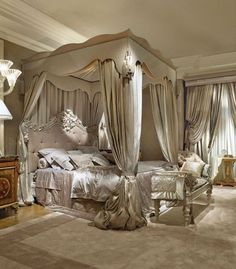 Luxurious bedrooms - 29 best canopy bed examples to introduce into your bedroom 17