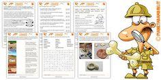 Schede didattiche sui fossili per la scuola primaria