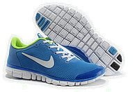 Nike mens free royal blue new green white mesh running shoes from th Cheap Running Shoes, Running Sneakers, Sneakers Nike, Nike Shoes Tumblr, Nike Free 3, White Nike Shoes, Nike Men, Air Jordans, Fashion Shoes