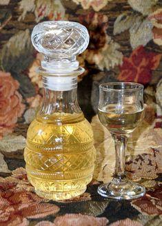 Cookbook Recipes, Cooking Recipes, Homemade Syrup, Mason Jar Wine Glass, Greek Recipes, Plant Based Recipes, Paper Dolls, Liquor, Perfume Bottles