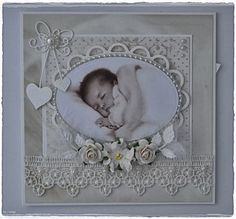 Tussa E-post :: 👶 Anbefalte Pins i Baby girl cards Baby Girl Scrapbook, Baby Scrapbook Pages, Baby Girl Cards, New Baby Cards, Card Making Inspiration, Making Ideas, Shabby, Baby Barn, Hand Made Greeting Cards