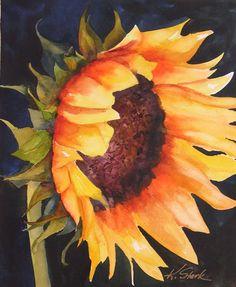 Sunflower Painting  - Sunflower Fine Art Print