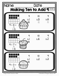 A great blog post on Making Ten to Add.