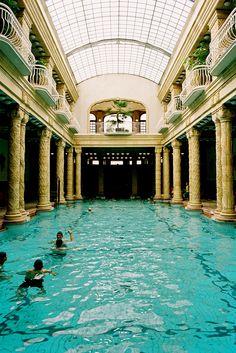 Gellért Thermal Baths, Budapest, Hungary