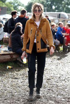 Edie Campbell, Glastonbury 2016
