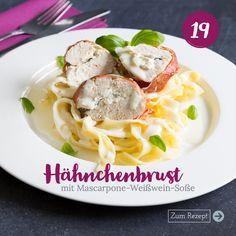Spaghetti, Meat, Ethnic Recipes, Food, Instagram, Mascarpone, Kitchens, Elf, Hams