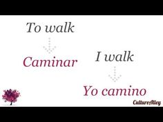 Basic Spanish | Lesson 6 | Forms of regular verbs (conjugation) - Use the right verb! - YouTube