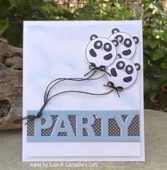 Fun card created by Lols for the Simon Says Stamp Wednesday challenge (Anything Goes)
