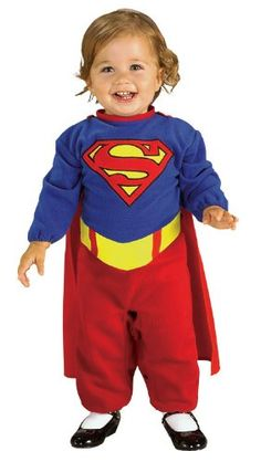 Superman Costume for baby girl