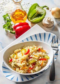 1-Tages-Diät mit Reis: Reis-Tag mit leckeren Rezepten. Reis entwässert hervorragend den Körper, unterstützt die Entschlackung, sättigt gut und ist leicht und bekömmlich ...