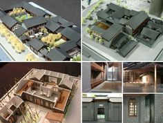 Kuanzhai Xiangzi ,Chengdu,China / An-design Architects - 谷德设计网 Architecture, Model, Design, Arquitetura, Scale Model, Architecture Illustrations, Pattern, Models