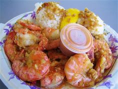 Shrimp Scampi from Giovanni's Shrimp truck on Oahu's North Shore! I have totally had this the best shrimp ever! Read Recipe by guanzon Hawaiian Plate Lunch, Hawaiian Dishes, Shrimp Truck Recipe, Shrimp Recipes, Asian Recipes, Ethnic Recipes, Seafood Restaurant, Food Inspiration, The Best