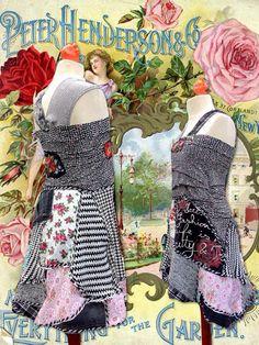 Speels en grappig Tuniek jurkje van lodicha op Etsy