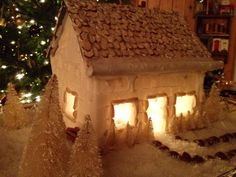 Sugar Cube Christmas House