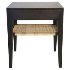 Noir Dario Side Table Pale @Zinc_Door
