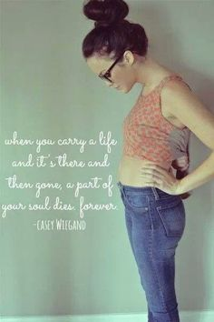Pretty much/ Miscarriage quote