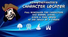 Best Disney World Apps, Great Disney World Apps, Character Locator, Best App for visiting Walt Disney World