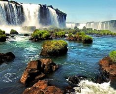 Iguazu Falls are among the most monumental Water Falls   10 Best Places To Visit In South America