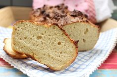 Low Carb Rezepte von Happy Carb: Butter-Toastbrot - Ein helles Toastbrot mit leckerer Butter.