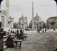 Foto storiche di Roma - Piazza del Popolo Anno: 1890 ca.