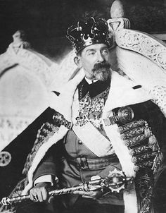 King Ferdinand I of Romania - in the year of his coronation. Ferdinand, Queen Mary, King Queen, History Of Romania, Romania People, Romanian Royal Family, Peles Castle, Royal Photography, Transylvania Romania