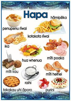 "Maori Resources – Tagged ""Te Reo"" – Page 2 – Blackboard Jungle Samoan Tribal, Filipino Tribal, Hawaiian Tribal, Hawaiian Tattoo, Maori Words, New Zealand Food, Food Technology, Maori Art, Creative Teaching"