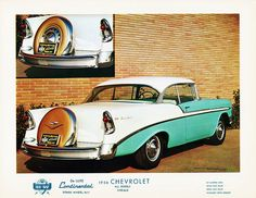Was there ever a more iconic classic car color? 1956 Chevrolet Bel Air