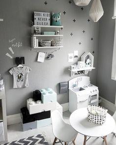 bara fantasin kan sätta stopp! ________________________________________________________#barnrummet #barnrumsinspo #barnrum #inspirationforpojkar #inredning #inspiration #barnrumsinspo #shelfie #finabarnrum #pojkrum #lightbox #kidsroom #boysroom #interiordesign #stringhylla #stringshelf #designbysh #dagensoutfit #lego #barnkök #jollyroom by louisewiberg Baby Bedroom, Kids Bedroom, Boy Girl Room, Toddler Rooms, Modern Kids, My New Room, Room Inspiration, Room Decor, Decoration