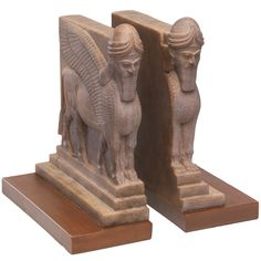 Assyrian Palace Guard Bookends