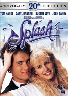 Splash: Anniversary Edition on DVD from Disney / Buena Vista. Directed by Ron Howard. Staring Daryl Hannah, Eugene Levy, Tom Hanks and John Candy. More Comedy, Romance and Movies DVDs available @ DVD Empire. Daryl Hannah, 80s Movies, Great Movies, Home Entertainment, John Candy, Tom Hanks Filme, Love Movie, Movie Tv, 1984 Movie