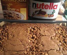 Rezept Nutellakuchen mit Knuspermüsli von TrolloPilz - Rezept der Kategorie Backen süß