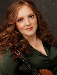 Rachel Barton Pine. A Violinist and  Honorary Member of Sigma Alpha Iota