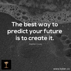 BYBER (@byberapp) | Twitter  The best way to predict your future is to create it...  #meet #connect #explore #byber #byberapp
