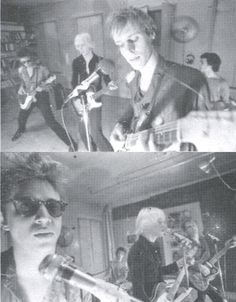 Television w/ Richard Hell, rehearsing at Terry Ork's loft, NYC, 1974.