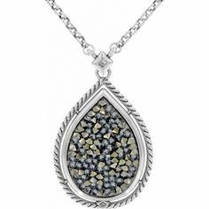 Crystal Rocks Necklace