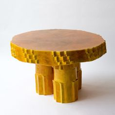 ceramic Autumn Twist Table by Studio Floris Wubben | The Future Perfect