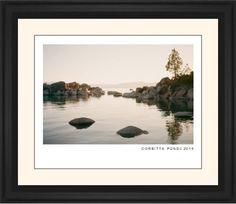 Modern Gallery Framed Print, Black, Classic, Black, Cream, Single piece, 16 x 20 inches, White