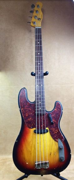 New Nash TB-68 Amazing Bass Sunburst with Factory Hard Case | Victory Guns & Guitar Works, LLC