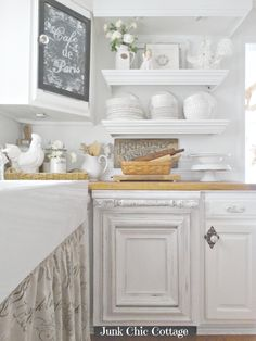 Junk Chic Cottage- Dishwasher Facelift-Treasure Hunt Thursday- From My Front Porch To Yours. So pristine in all white.