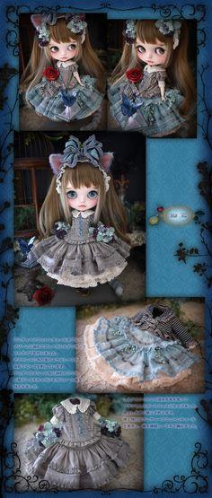 Custom Blythe Dolls: Milk Tea Custom Blythe * Alice Chibi Cheshire Cat * - A Rinkya Blog
