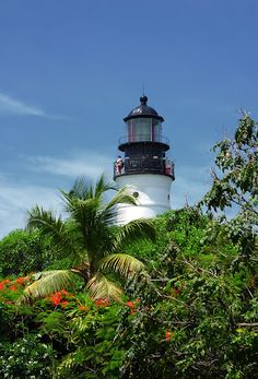 Lighthouse. Key West, Florida. Photo by Andy New.