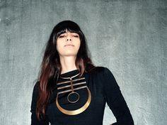 IMHOTEP choker necklace by SANKTOLEONOJEWELRY on Etsy, $270.00