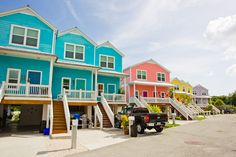 Watch more like Yellow And Blue Houses Key West