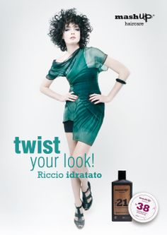 Oggi vuoi avere un riccio idratato? Twist your Look con un mashup di N°21 Daily Leave-in Conditioner e N°38 Curling Paste! Solo nel mashup point più vicino...Infoline 800103661 / info@mashuphaircare.com